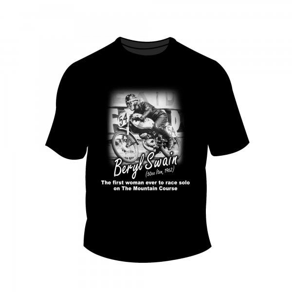 Full Factory Vintage – Beryl Swain MK1 T-Shirt Front