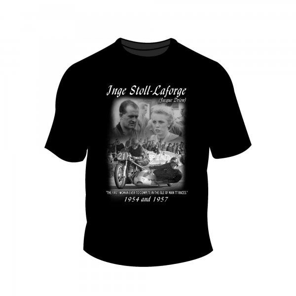 Full Factory Vintage – Inge Stoll-Laforge T-Shirt MK1 Front