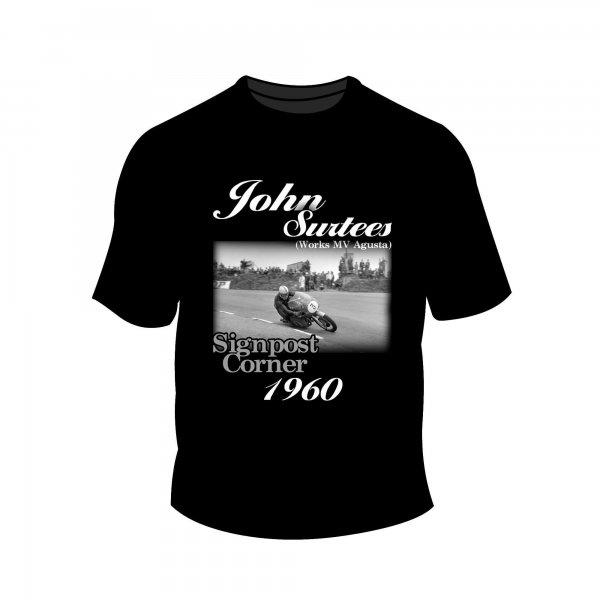 Full Factory Vintage – John Surtees T-Shirt MK1 Front