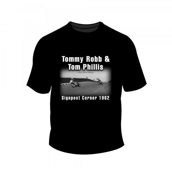 Full Factory Vintage – Tommy Robb & Tom Phillis T-Shirt MK1 Front